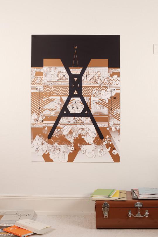Modern_poster_serigraphie_horstaxe_france