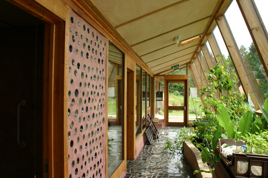Earthship interieur