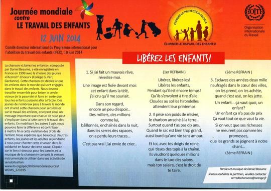 be72cc545da La musique contre le travail des enfants » Les — KissKissBankBank