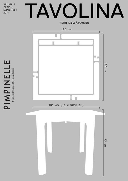 Tavolina-montage