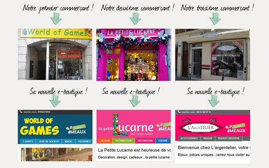 Maquette-tiendas