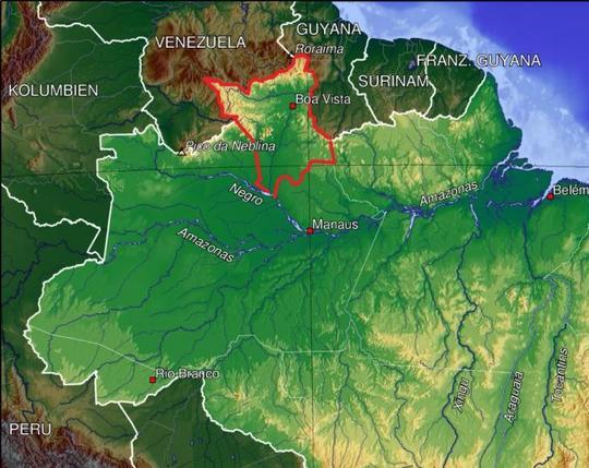 Brazil-roraiam
