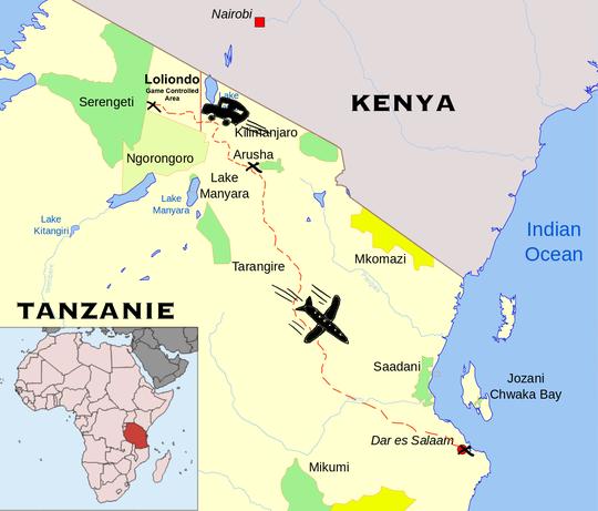 Tanzaniecarte