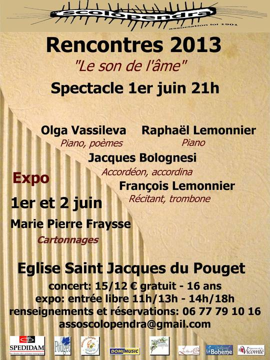 2013 rencontres spectacle