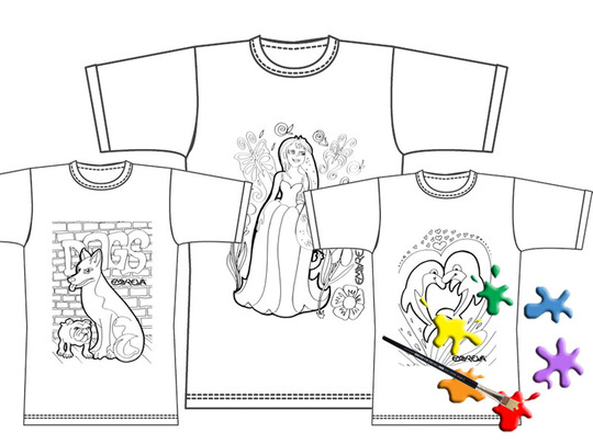 T-shirt-a-peindre