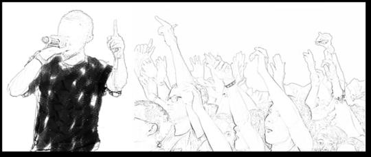 Chanteur_et_foule
