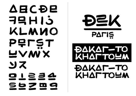 D2k-alphabet
