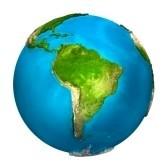 8559108-planete-terre--amerique-du-sud--globe-colore-avec-surface-detaillee-et-realiste-rendu-3d