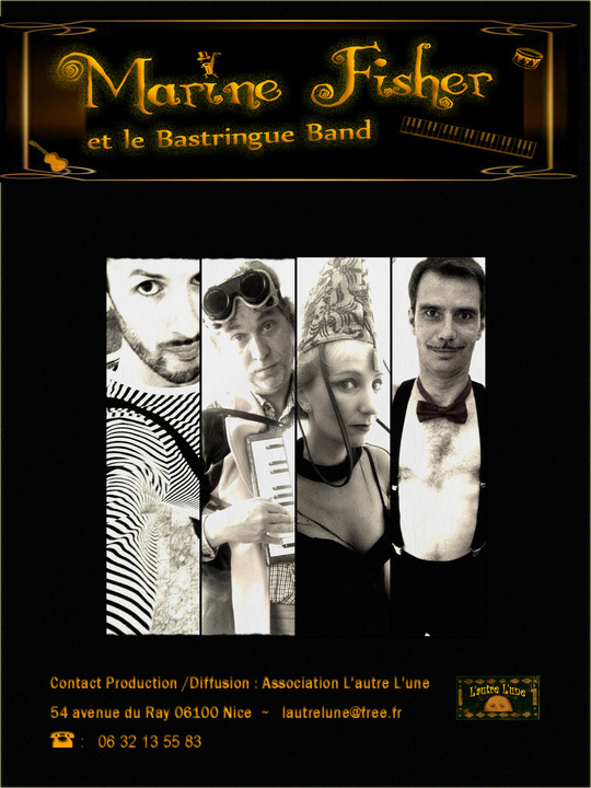 Affiche_marine_fisher_et_le__bastringue_band