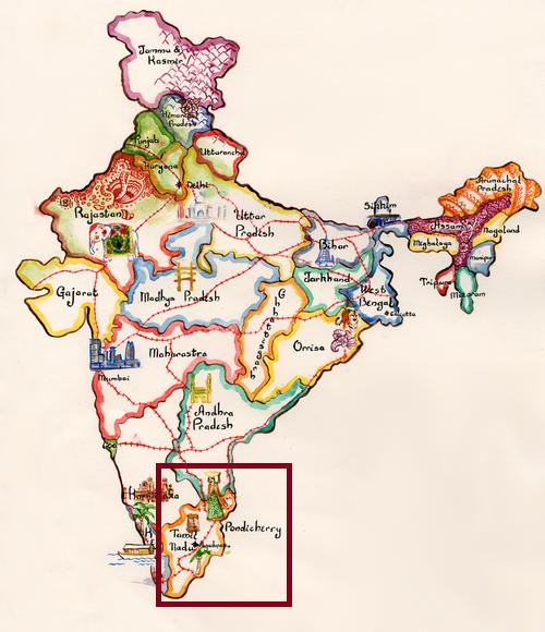 Inde_carte