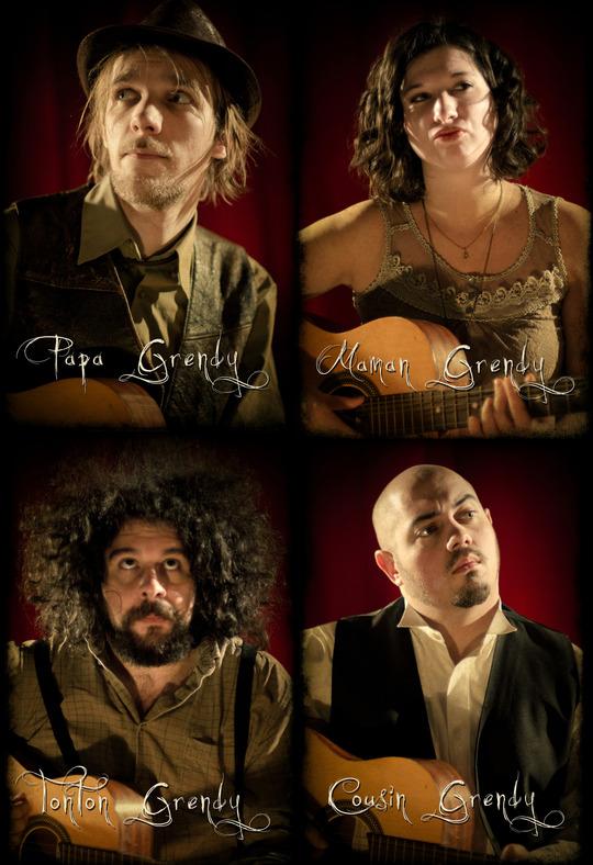 Portraits des membres de la Famille Grendy