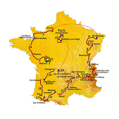 Route_of_the_1990_tour_de_france