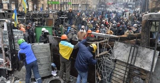 Kiev-barricades