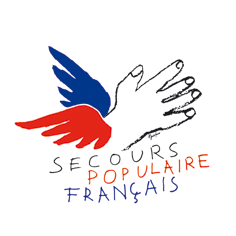 Logo du Secours populaire français