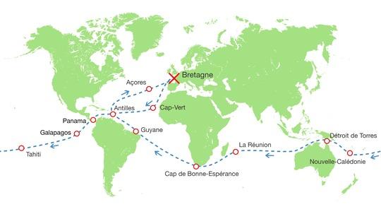 Worldmap-parcours