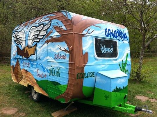 Enez du cr perie en route pr sent par loendu kisskissbankbank - Decorer une caravane ...